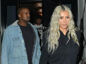 Kim Kardashian blij met pro-Trump berichten van haar man