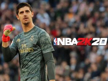 NBA2K Sundays: Thibaut Courtois neemt het op tegen Willy Hernangómez