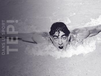 Alfred Nakache, le nageur olympique français qui a survécu à la Shoah
