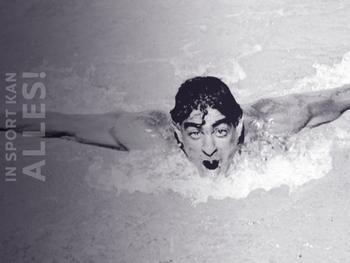 Alfred Nakache: de Franse zwemkampioen die de nazi's overleefde