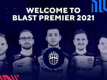 BIG vervoegt de andere leden binnen het BLAST Premier-circuit