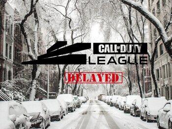 De tweede week van de COD League is uitgesteld door sneeuwstorm