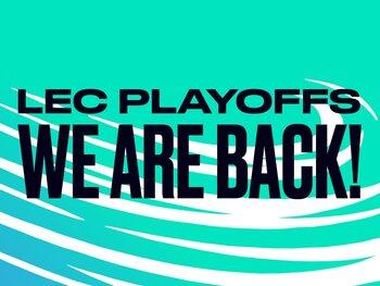 LEC: de play-offs staan voor de deur!