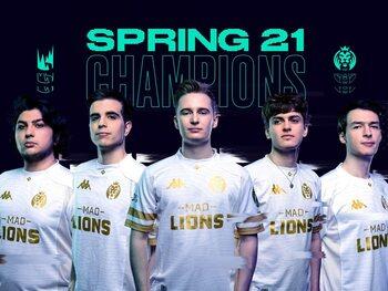MAD Lions sacrés champions du Spring Split du LEC face à Rogue