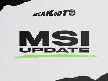 VCS-kampioen zal niet deelnemen aan MSI