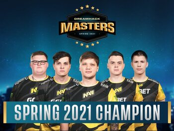 Natus Vincere renverse Gambit Esports en finale de la Dreamhack Masters Spring