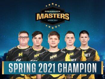 Natus Vincere klopt Gambit Esports in de finale van de DreamHack Masters Spring