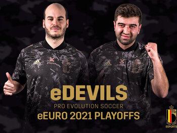 Les eDevils en bonne voie pour l'eEURO 2021 après le premier tour des matchs de barrage