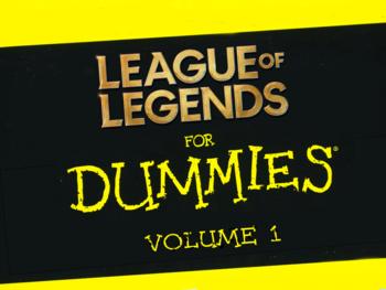 League of Legends pour les noobs – Volume I : Les bases