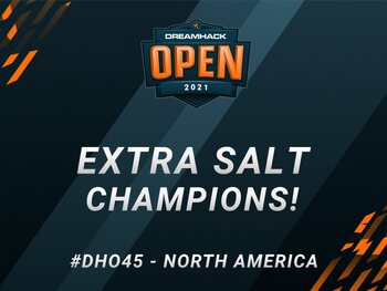 Extra Salt maakt brandhout van O PLANO in finale van Dreamhack Open June NA