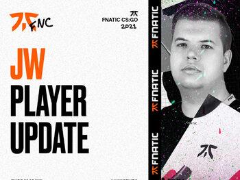 CS:GO-team Fnatic zet JW op non-actief en gaat internationaal