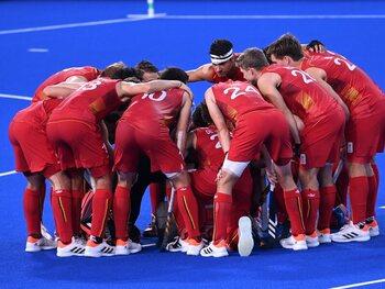 03/08: De Red Lions zijn een uur verwijderd van hun tweede opeenvolgende Olympische finale