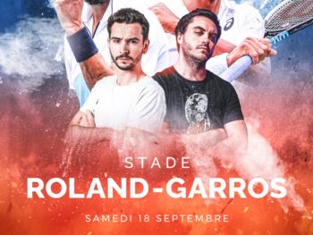 Le streamer Domingo organise un match de tennis avec ZeratoR, Benoit Paire et Gaël Monfils