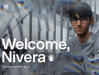 Le Belge Nivera rejoint l'équipe Valorant de Team Liquid