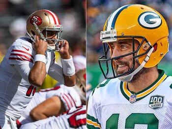 Malheur au vaincu du match entre les 49ers et les Packers cette semaine en NFL