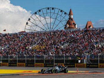 Opnieuw publiek tijdens de Grote Prijs F1 van Rusland