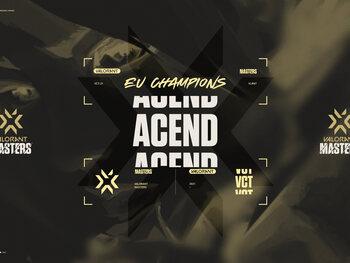 Acend remporte le premier Master européen du Valorant Champions Tour 2021