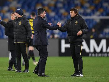 Napoli - Inter Milaan: de strijd tussen twee bekritiseerde coaches