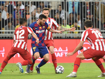 Barcelone veut se rassurer contre l'Atlético Madrid