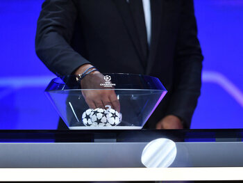 Volg LIVE de loting voor de kwart- en halve finales van de Champions League