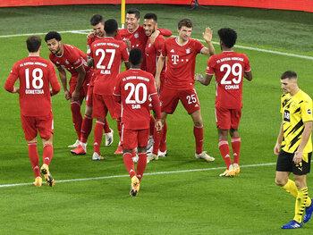 Le Bayern Munich remporte un sommet passionnant face à Dortmund
