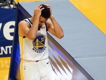 Missen de Warriors van Stephen Curry voor het tweede seizoen op rij de play-offs?