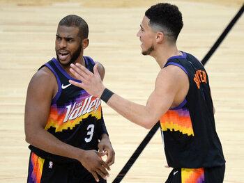 Suns maken comeback in NBA-play-offs: de zon schijnt weer in Phoenix