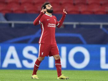 """Le duo Salah-Mané sort Liverpool de sa misère """"à domicile"""" en s'imposant face au RB Leipzig"""