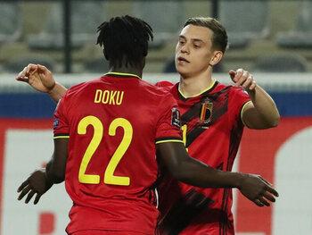 Hebben Leandro Tossard en Jérémy Doku hun ticket voor het EK beet?