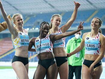 De Belgische estafettes beginnen goed aan hun voorbereiding op de Spelen in Tokio