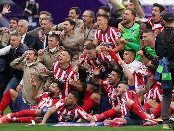 De match die het kampioenschap beslechtte voor Atlético? De thuiswedstrijd tegen Osasuna!