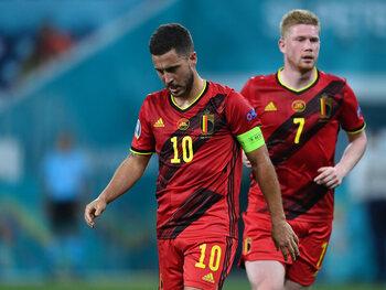 La Belgique avec Kevin De Bruyne mais sans Eden Hazard contre l'Italie ?
