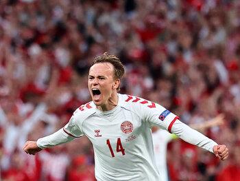 Mikkel Damsgaard en route pour battre plusieurs records avec le Danemark