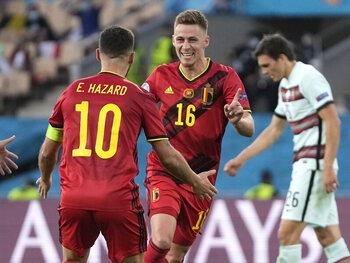 De broertjes Hazard toonden de weg tegen Portugal!