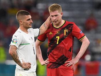 Wat onbrak er bij België tegen Italië?