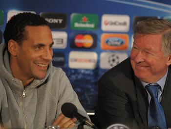 Aftellen naar burenduel tussen Engeland en Schotland: Rio Ferdinand plaagt Sir Alex Ferguson