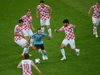 La masterclass d'Andrés Iniesta contre la Croatie en 2012