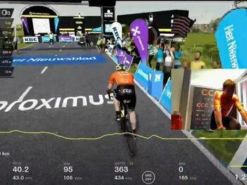 Proximus Cycling eSeries, la nouvelle plateforme de cyclisme virtuel de Flanders Classics