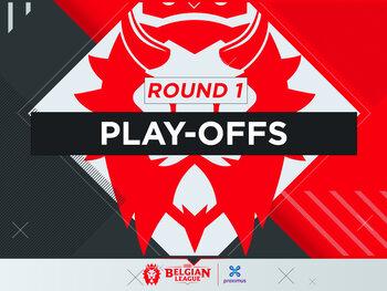 Livestream : Belgian League – Play-offs | Round 1