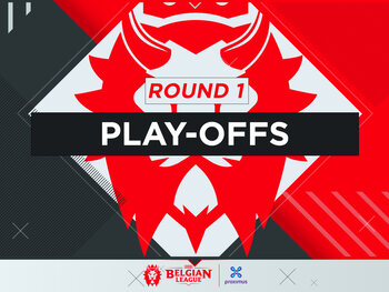Livestream : Belgian League – Play-offs   Round 1