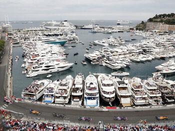 Afspraak in Monaco, waar de race wordt uitgevochten... in de kwalificaties