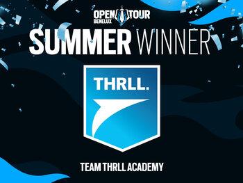 THRLL academy team wint de Benelux Open Tour