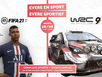 La commune d'Evere organise un tournoi FIFA à l'occasion de la journée sportive solidaire