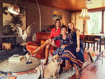 Goedele Liekens keert samen met dochters Merel en Céleste terug naar 1975