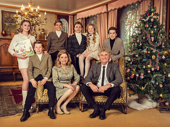 Groeten Uit: zo viert de Pfaff-familie kerst in 1965