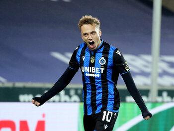 Noa Lang, het nieuwe speerpunt van Club Brugge