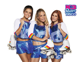 K3 Roller Disco in de Studio 100 GO Pass