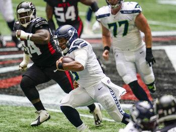 De Baltimore Ravens en de Seattle Seahawks gaan voor twee op twee