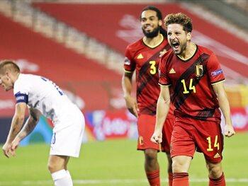 België in IJsland om door te gaan naar de halve finales