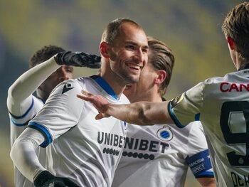 Le Club de Bruges, avec Bas Dost buteur pour son premier match, est le gagnant du week-end